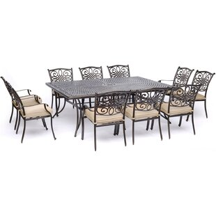 Astoria Grand Rhoton Traditions 11 Piece Dining Set