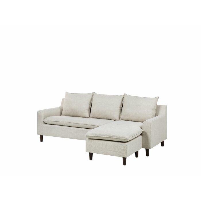 Maritza Fabric Corner Sofa Chaise