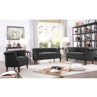 Celestia 3 Piece Living Room Set By Alcott Hill