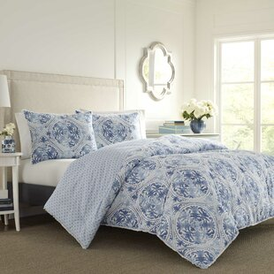 Mila 100% Cotton Reversible Comforter Set by Laura Ashley Home