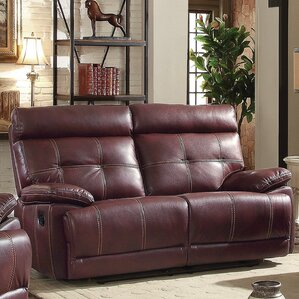 Mensae Reclining Loveseat by Latitude Run