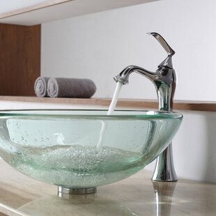 Exquisite Single Hole Bathroom Faucet with Optional Pop Up Drain By Kraus