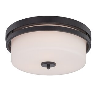 Hokku Designs Melissa 3-Light Flush Mount