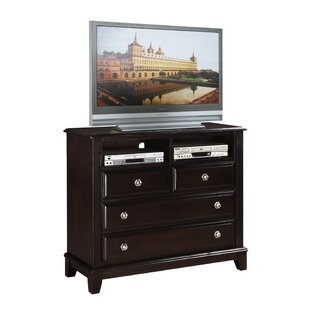 Holzman 4 Drawer Media Chest