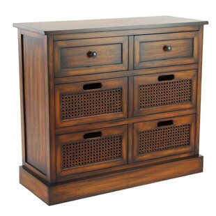 Harrisburg 6 Drawer Accent Chest by Bayou Breeze