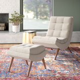 Carrion Lounge Chair with Ottoman