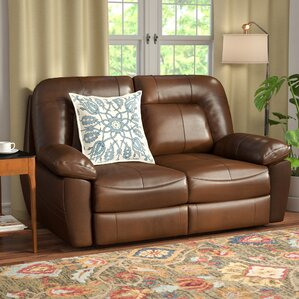 Red Barrel Studio Bolles Reclining Loveseat Image