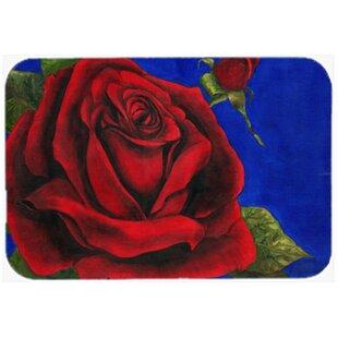 Rose Glass Cutting Board