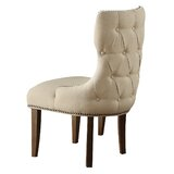 Fleischer Upholstered Side Chair by Greyleigh
