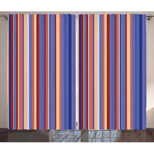 Pencil Pleat Room Darkening Thermal Curtain East Urban Home Panel Size: 140cm W x 175cm D