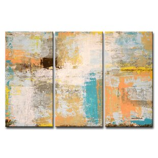 'Promise Me' Acrylic Painting Print Multi-Piece Image on Wrapped Canvas by Mercury Row