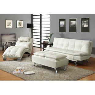 Latitude Run Baize Sleeper Configurable Living Room Set
