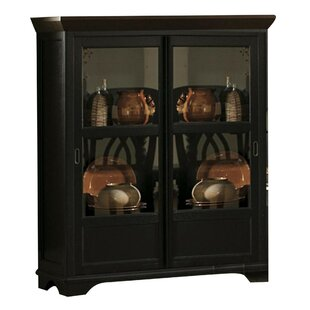 Darby Home Co Beaudin Wooden Corner Curio Cabinet