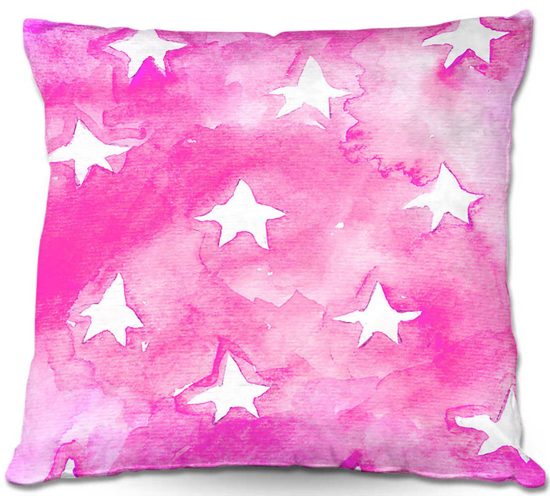 Ebern Designs Rittenhouse Couch Artsy Stars Throw Pillow Wayfair