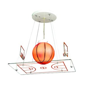 Zoomie Kids Cy 1-Light Geometric Pendant
