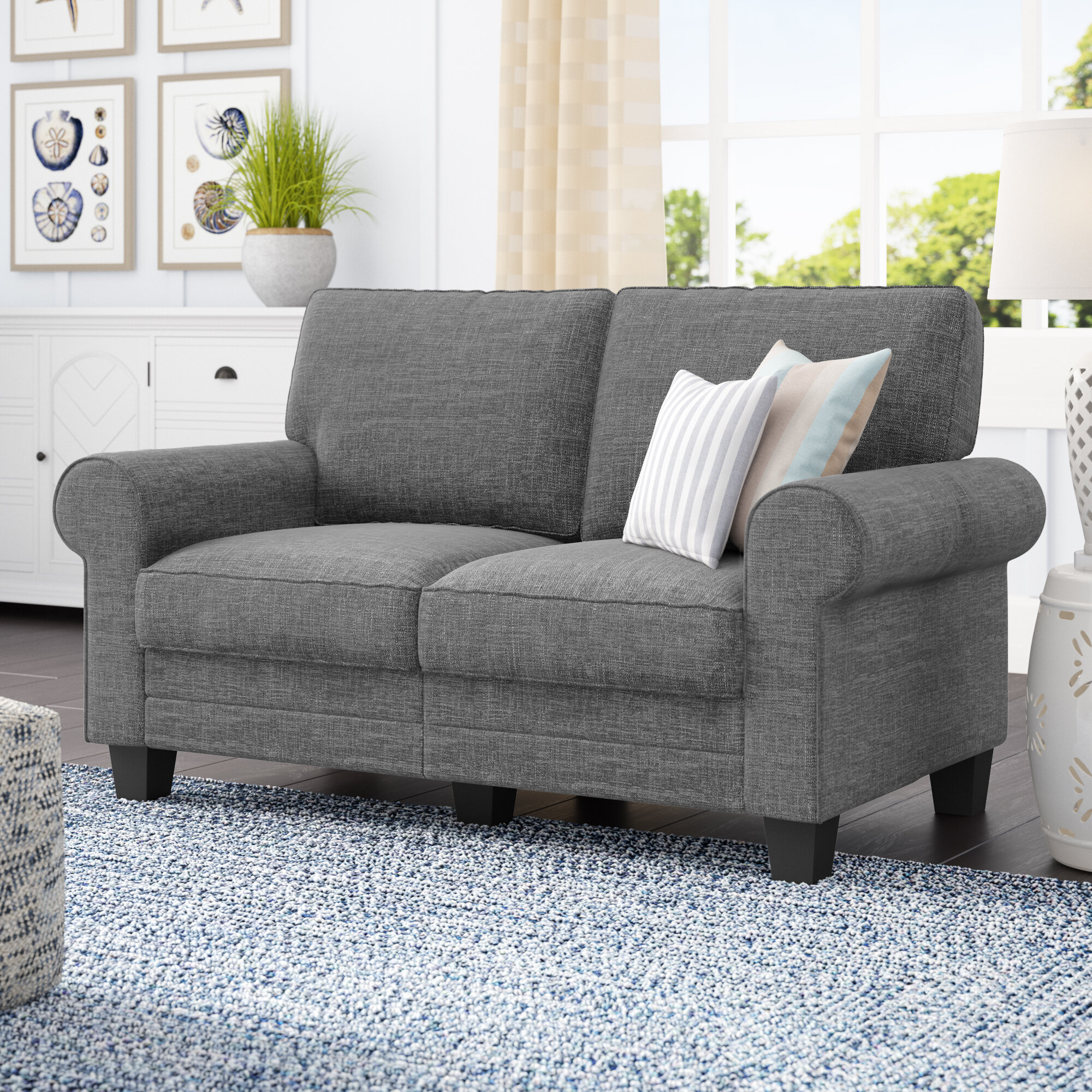 home sleeper img chair decor friendly seat bed out homcom fold loveseat lounging sofa with eco fabric convertible wheels
