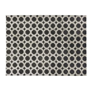 Compare & Buy One-of-a-Kind Berlin Hand-Woven Charcoal/White Area Rug By Exquisite Rugs
