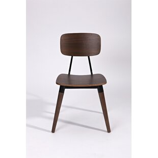 Pearlie Solid Wood Dining Chair by Corrig..