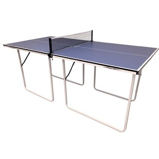 Top Spin Foldable Indoor Table Tennis Table by Playcraft