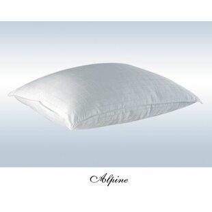 Alpine Luxurious Goose Down Alternative European Pillow in White
