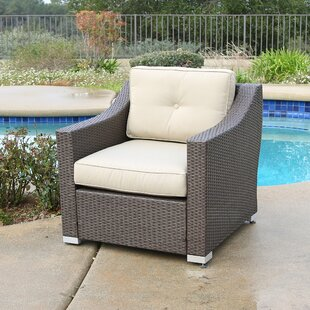Brayden Studio Suai Patio Chair with Cush..
