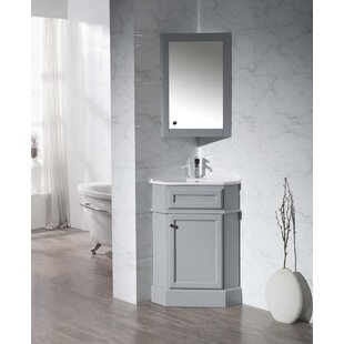 Rocher 27 Single Bathroom Vanity Set with Mirror By Red Barrel Studio