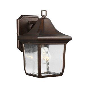 Price comparison Haubstadt 1-Light Outdoor Wall Lantern By Darby Home Co