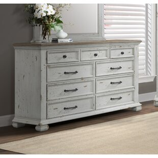 Schutz 7 Drawer Double Dresser