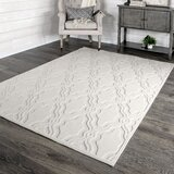 My Texas House by Orian Indoor/Outdoor Cotton Blossom Natural Area Rug byMy Texas House by Orian