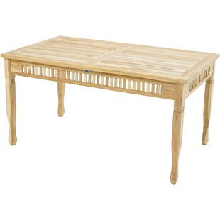 Hobkirk Teak Dining Table By Sol 72 Outdoor