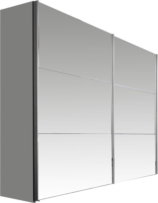 Can Möbel Krefeld express möbel solutions bianco 2 door wardrobe reviews wayfair co uk