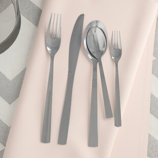 Fulvia Elegant Stainless Flatware Set, Service For 4 (Set Of 4)