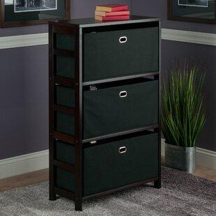Tinoco Storage Shelf Standard Bookcase by Red Barrel Studio