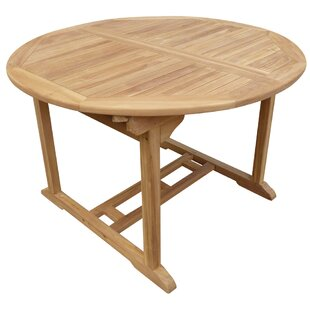 Cosper Wood Dining Table by Highland Dunes
