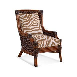 Coconut Grove Wingback Chair by Braxton C..