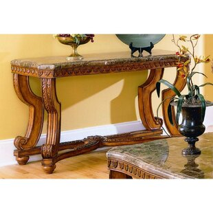 Imperial Wooden Console Table by Astoria Grand New