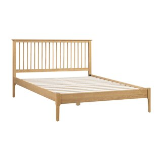 Simpson Bed Frame With Mattress By August Grove