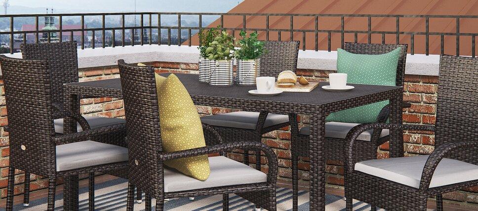 big garden dining sets under 500