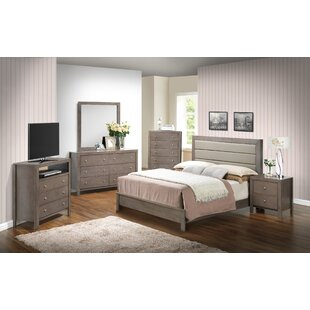 Carbon Configurable Bedroom Set by Three Posts Today Sale Only