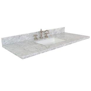 Best 49 Single Bathroom Vanity Top ByBellaterra Home