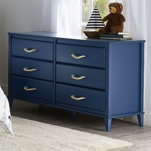 Sierra Ridge Mesa 6 Drawer Double Dresser by Little Seeds