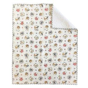 Flora Crib Quilt Coverlet