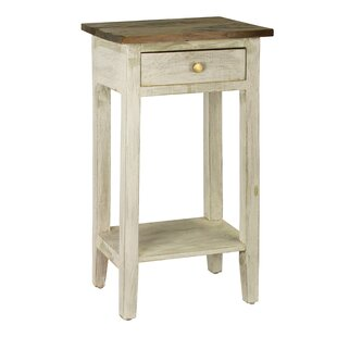Cusseta End Table With Storage