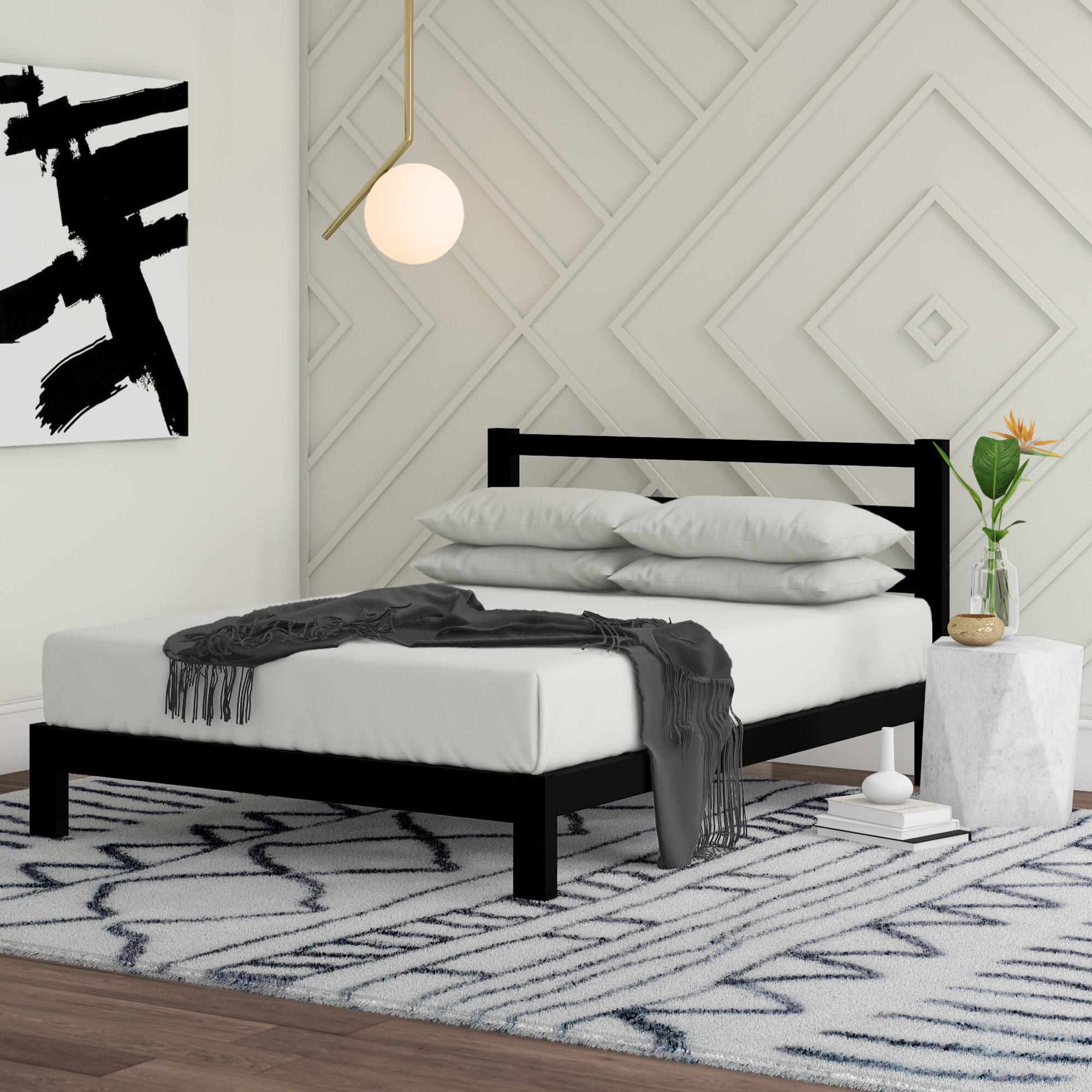 Modern Platform Beds You Ll Love In 2021 Wayfair