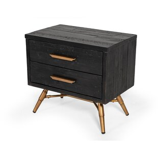 Haslingden 2 Drawer Nightstand by Wrought Studio