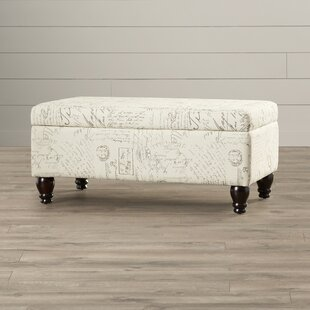 Lark Manor Fauver Fabric Storage Bench