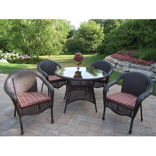 Kingsmill Traditional Dining Set with Cushions