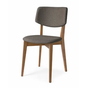 Robin Upholstered Wooden Side Chair by Connubia