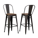 Hagins 27.95'' Stool (Set of 2) by Williston Forge