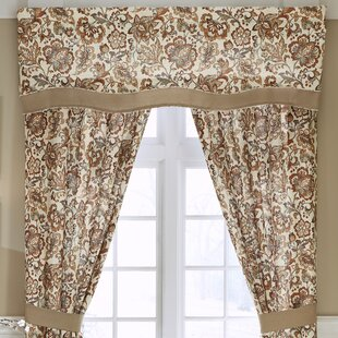Delilah Layered Scalloped 67 Window Valance by Croscill Home Fashions